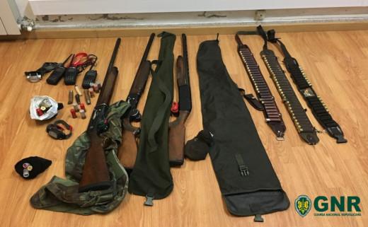 Foto de Montalegre – Três detidos por crime de caça por meios não permitidos
