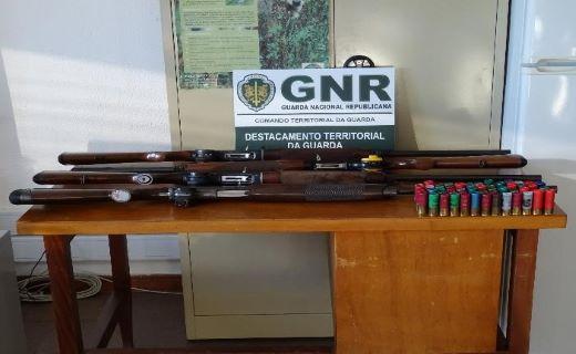 Foto de Celorico da Beira – Cinco identificados por caça ilegal ao javali