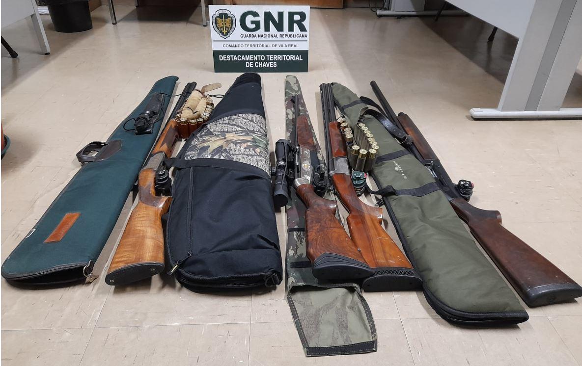 Foto de Boticas – Detidos em flagrante por caça ilegal