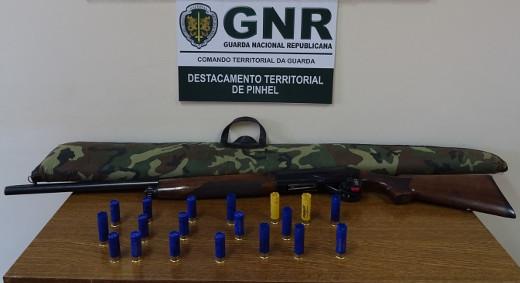 Foto de Pinhel – Detido em flagrante delito por crime de caça